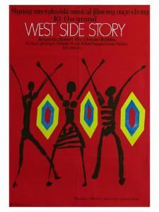West Side Story, Polish Movie Poster, 1961