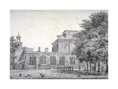 West View of the Chapel of St Peter Ad Vincula, Tower of London, C1800--Giclee Print