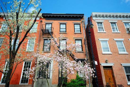 West Village New York City Apartments in the Springtime-SeanPavonePhoto-Photographic Print