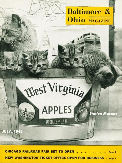 West Virginia Apples--Giclee Print