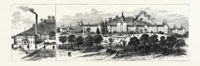 West Virginia: New State Hospital for the Insane at Weston--Giclee Print
