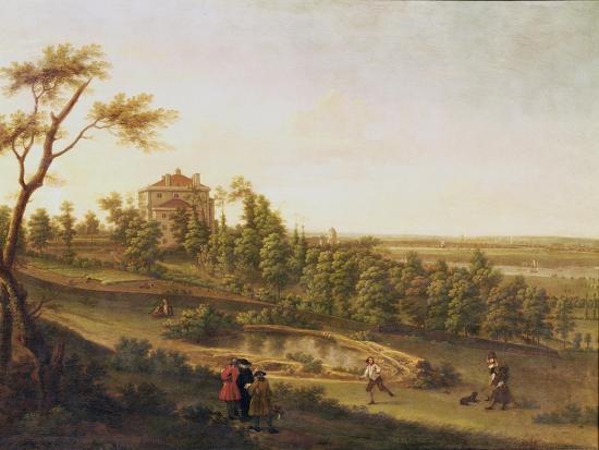 Westcombe House, Blackheath-George Lambert-Giclee Print