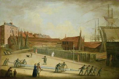 Westerdale's Yard from Saville Street-Robert Willoughby-Giclee Print