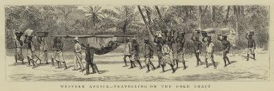 Western Africa, Travelling on the Gold Coast--Giclee Print