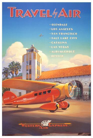 Western Air Express-Kerne Erickson-Art Print