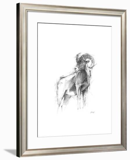 Western Animal Sketch III-Ethan Harper-Framed Limited Edition
