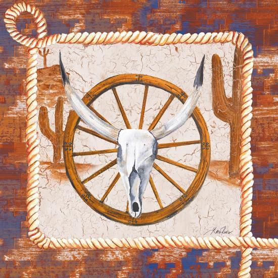Western Art II-Gina Ritter-Art Print