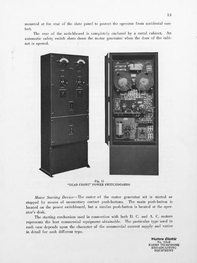 Western Electric Company's Dead Front Power Switchboards--Giclee Print