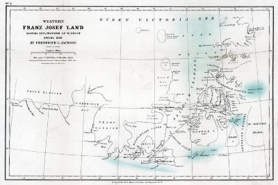 Western Franz Josef Land, 1896--Giclee Print