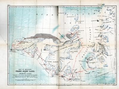 Western Franz Josef Land, 1899--Giclee Print