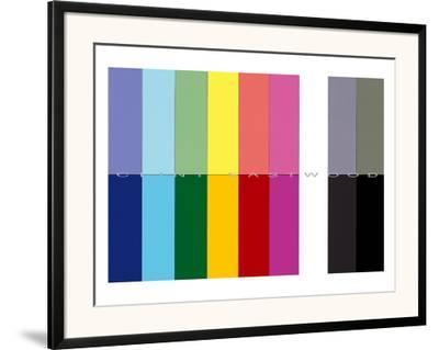 Western, High Plains Drifter-Simon Patterson-Framed Art Print