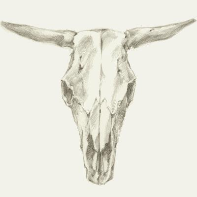 Western Skull Mount II-Ethan Harper-Art Print