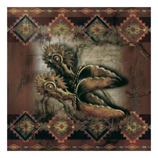 Western Spur-Alma Lee-Art Print