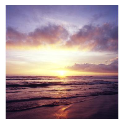 Western Sunset 4-Acer Images-Premium Photographic Print