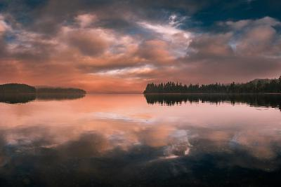 Western Sunset-Vladimir Kostka-Photographic Print