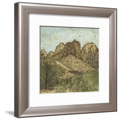 Western View VIII-Megan Meagher-Framed Art Print