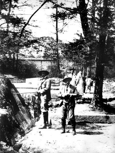 Western Visitors to Korea, 1900--Giclee Print