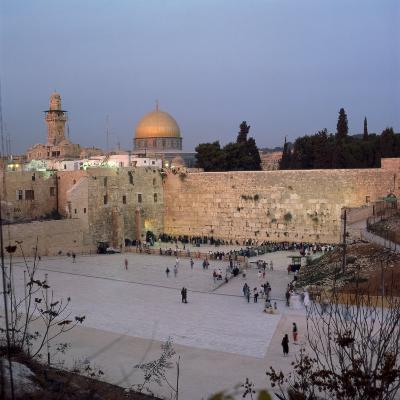 Western Wall in the 1990S, Jerusalem, Israel, Middle East-Robert Harding-Photographic Print
