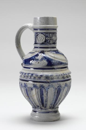 Westerwald Drinking Jug, 1600-20--Photographic Print