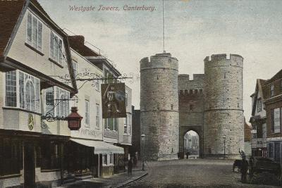 Westgate Towers, Canterbury, Kent--Photographic Print