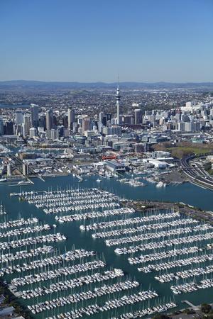 Neuseeland Postcard Westhaven Marina Auckland
