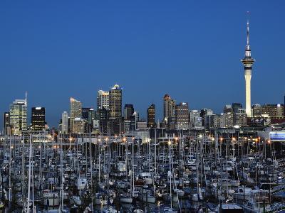 Westhaven, Waitemata Harbour, Auckland, North Island, New Zealand, Pacific-Jochen Schlenker-Photographic Print
