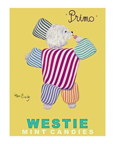 Westie Mints-Ken Bailey-Collectable Print