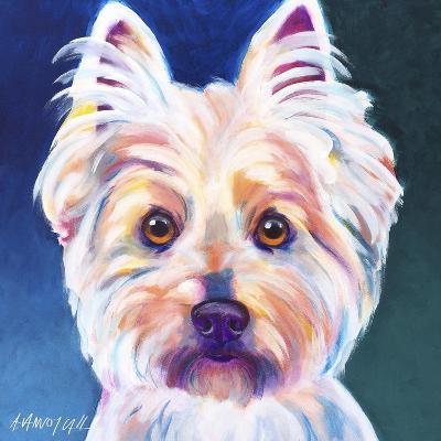 Westie Rockette-Dawgart-Giclee Print