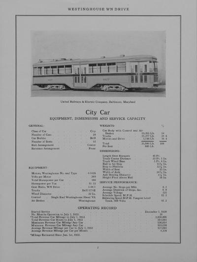 Westinghouse Electric and Manufacturing Company's City Car Belonging to the United Railways and Ele--Giclee Print