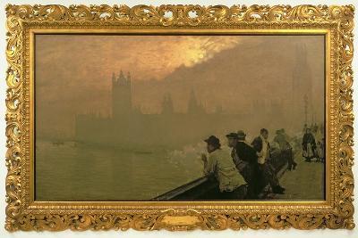 Westminster, 1878-Giuseppe De Nittis-Giclee Print