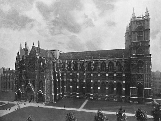 'Westminster Abbey', c1896-Unknown-Photographic Print