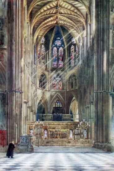 Westminster Abbey, London, 1902-Alfred Hugh Fisher-Giclee Print