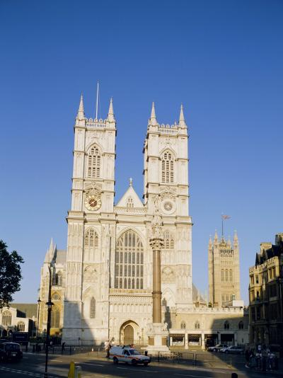 Westminster Abbey, London, England, UK-Charles Bowman-Photographic Print