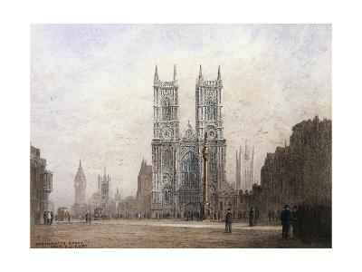 Westminster Abbey, London-Fred E^J^ Goff-Giclee Print