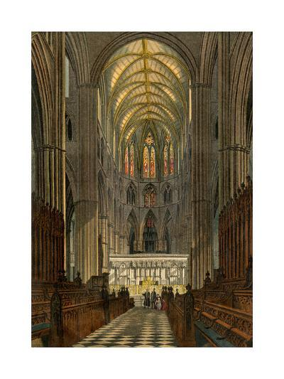 Westminster Abbey, Seen from the Choir--Giclee Print