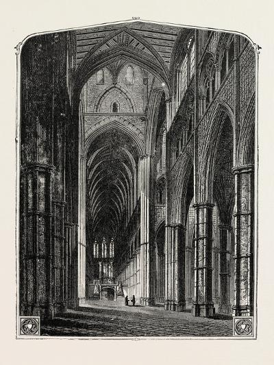 Westminster Abbey the Nave--Giclee Print