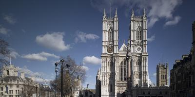 Westminster Abbey, Westminster, London. Exterior-Richard Bryant-Photographic Print