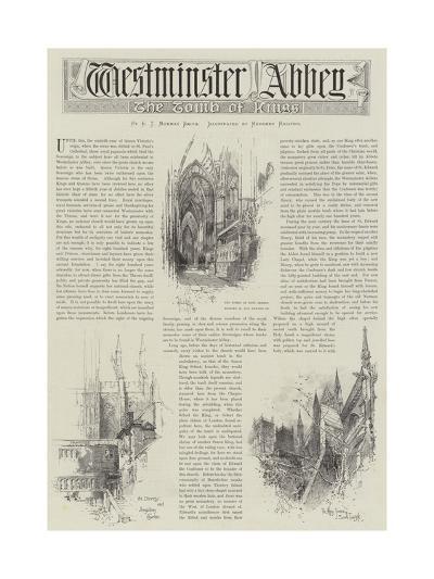 Westminster Abbey-Herbert Railton-Giclee Print