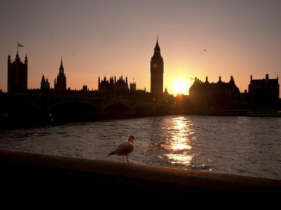 Westminster Bridge, Houses of Parliament, and Big Ben, UNESCO World Heritage Site, London, England-Sara Erith-Photographic Print