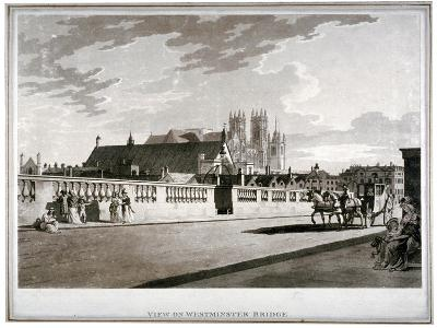 Westminster Bridge, London, 1792--Giclee Print