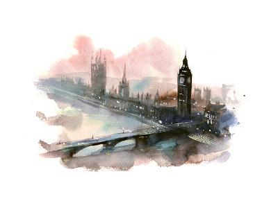 Westminster Bridge-okalinichenko-Art Print