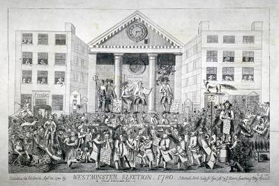 Westminster Election, 1780--Giclee Print