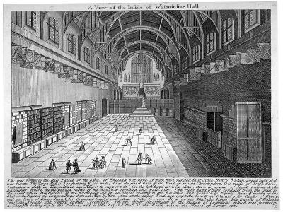 Westminster Hall, London, C1790--Giclee Print