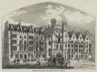 Westminster Improvements, New Houses in the Broad Sanctuary--Giclee Print
