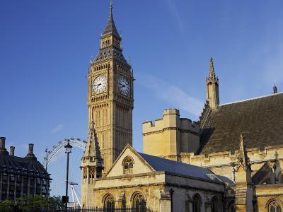 Westminster Palace, Big Ben, London, England, Great Britain-Rainer Mirau-Photographic Print