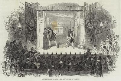 Westminster Play, Scene from the Andria of Terence--Giclee Print