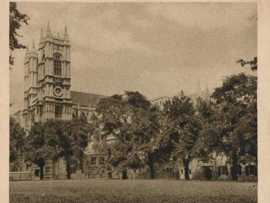 'Westminster School', 1923-Unknown-Photographic Print