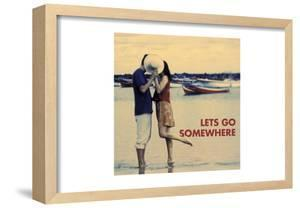 Let's Go Somewhere by Westmorland Michele