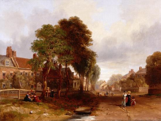 Westoe Village, 1835-John Wilson Carmichael-Giclee Print