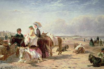 Weston Sands in 1864- William Hopkins and Edmund Havell-Giclee Print